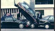 auto tussen parkeren