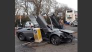 Lamborghini op vluchtheuvel