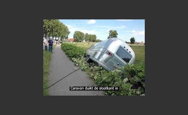 Caravan te water